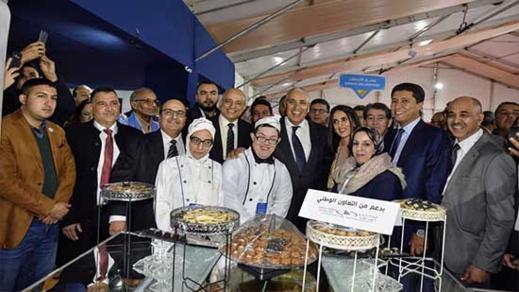 الوزيرة نادية العلوي ووالي الجهة وبعوي يفتتحان فعاليات المعرض الوطني للاقتصاد الاجتماعي والتضامني بوجدة