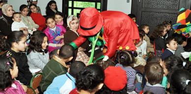 جمعية اكسان للتنمية والبيئة والعصبة المغربية لحماية الطفولة تنظمان صبحية للأطفال