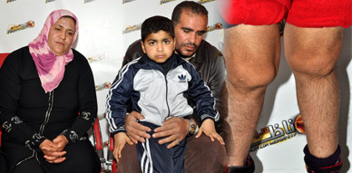 نداء إنساني من أجل مساعدة الطفل حمزة قصد تلقيه العلاج من داء روماتيزم المفاصل