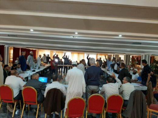 انتخاب الناظوري محمد أعراب نائبا لرئيس الكنفدرالية المغربية لتجار السمك بالجملة