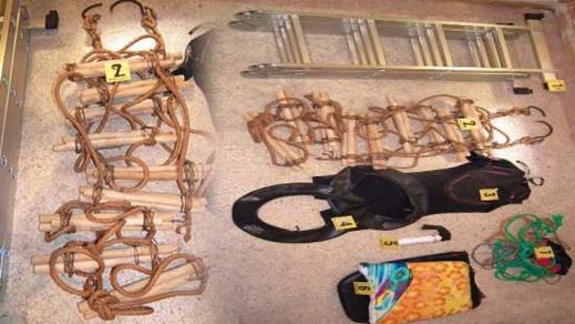 بالصور.. أمن الناظور يحبط عملية للهجرة للسرية باستخدام التسلق عبر السياج المحيط بمدينة مليلية