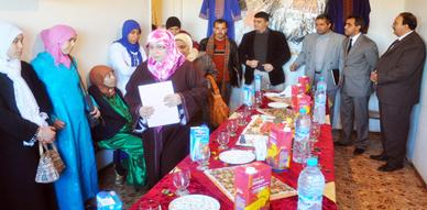 جمعية المرأة للتنمية والأعمال الاجتماعية ببني انصار تفتتح شعبتي التدبير المنزلي والإعلاميات