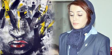 التشكيلية خديجة طجاوي تعرض لوحاتها الفنية بالمركب الثقافي بالناظور احتفاءا بعيد المرأة