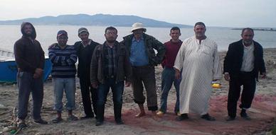بحارة بوعرك والجزيرة في حملة تمشيطية ببحيرة مارشيكا لمحاربة ناهبي الثروة السمكية