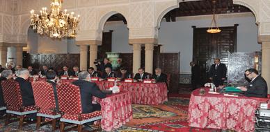 جلالة الملك يترأس مجلسا للوزراء بالرباط