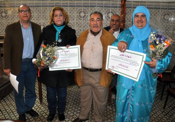 الاتحاد المغربي للشغل يكرم المراة العاملة ولويزة بوسطاش ومريم السالمي أبرز المكرمات