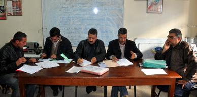 تجديد الثقة في الرطبي بوزيان خلال الجمع العام السنوي لفرع الجمعية المغربية لحقوق الإنسان بالناظور