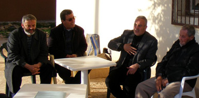 النائب البرلماني نور الدين البركاني في زيارة إلى منطقة الحضيرة الصناعية بسلوان