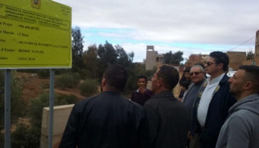 بالصور.. رئيس مجلس إقليم الدريوش يعطي انطلاقة انجاز مشاريع تنموية بالإقليم