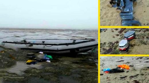 كلهم مغاربة.. حجز قاربين مطاطيين وتوقيف 18 مهاجراً سرياً بسواحل مدينة السعيدية