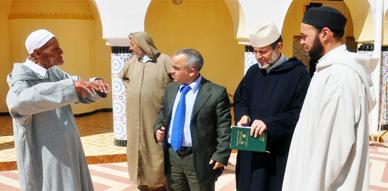 المجلس العلمي بالناظور ينظم زيارة تفقدية لقيدومي أئمة مساجد بني سيدال