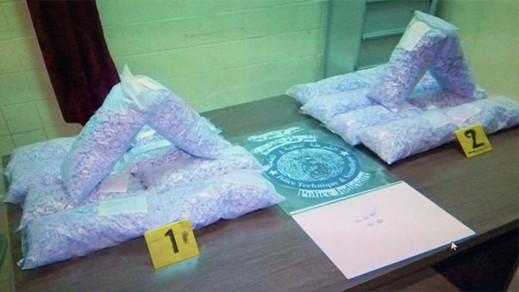 ضربة جديدة لتجار المخدرات.. حجز 50 الف قرص من الإكستازي بالدرويش