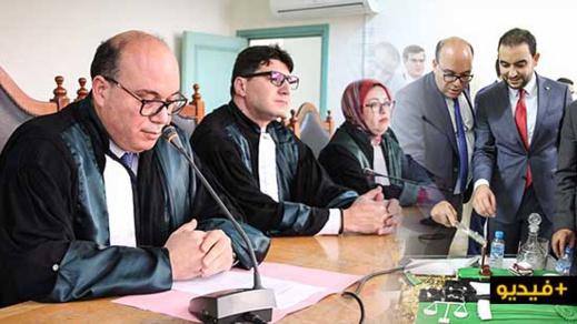 """بحضور أسرة القضاء.. ابن الريف """"حسام أقضاوي"""" يُنصّب قاضيا رسميا بمحكمة الناظور"""