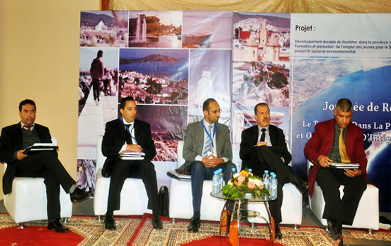 جمعية أمديساج تناقش في يوم دراسي بالناظور موضوع السياحة بالإقليم وإمكانية إدماج الشباب