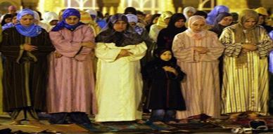 نساء المغرب أكثر تدينا من رجالها