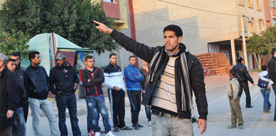 مسيرة احتجاجية للطلبة بزايو تنديدا على اعتقال طالب جامعي وأطلاق سراحه