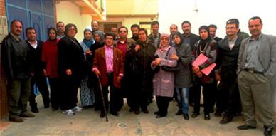 أعضاء الجمعيات لحماية وتعزيز حقوق الأشخاص المعاقين في لقاء تواصلي موسع  بالناظور