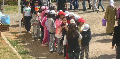 منظمة الطلائع اطفال المغرب فرع زايو في رحلة ترفيهية الى زكزل وتافوغالت