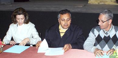 جمعية أزول بالناظور توقع اتفاقية شراكة وتعاون مع جمعية كوميدراما بوجدة