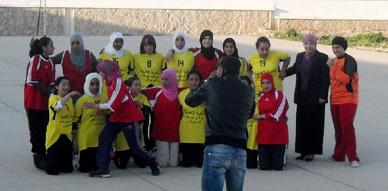 ثانوية مولاي يوسف الإعدادية ودار الطالبة تحتفيان بالمرأة من خلال نشاط رياضي