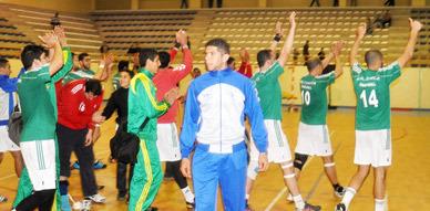 في مباراة هتشكوكية.. هلال الناظور لكرة اليد يهزم الجيش الملكي