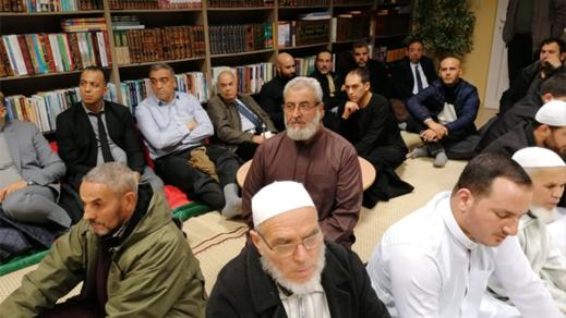 جمعية المقاولين المغاربة الفلامنكيين ومعهد جسر الأمانة ينظمان بأنفرس أمسية دينية بمناسبة عيدي المولد النبوي والإستقلال