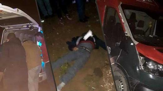 إصابة شخص بجروح خطيرة في حادثة سير بمدخل جماعة تيزطوطين