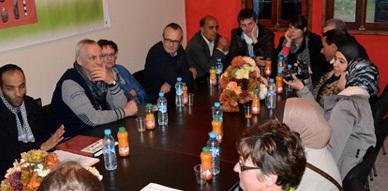جمعية إفري نعمار للثقافة والتنمية بأفسو في لقاء تواصلي مع وفد بلجيكي