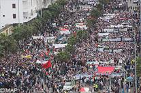 الآلاف يشاركون بالدار البيضاء في مسيرة من أجل القدس