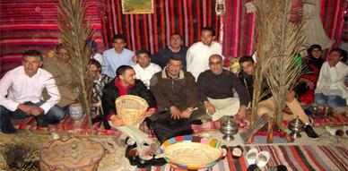 نادي ماسينيسا بثانوية إبن سينا بأزغنغان يستضيف عرض حول تاريخ وتراث الثقافة الأمازيغية