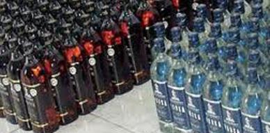 مفوضية شرطة بني أنصار تهاجم منزل بحي المستوصف وتحجز كميات مهمة من الخمور المهربة
