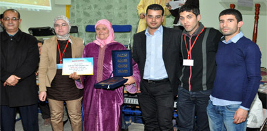 جمعية قدماء تلاميذ ثانوية الفيض التأهيلية تكرم أطر تربوية في نشاط نظمته بالمؤسسة