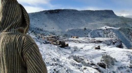 تساقطات ثلجية ورياح قوية يومي الاثنين والثلاثاء بعدد من مدن المملكة