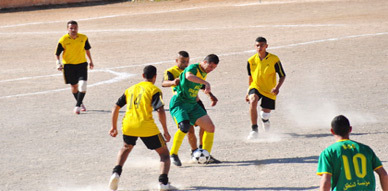 فريق نهضة زايو يفوز بنتيجة عريضة على فريق بني انصار ويتربع على صدارة المجموعة