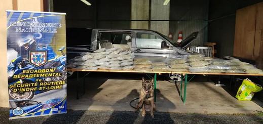 السلطات الفرنسية تعتقل بلجيكيا من اصل مغربي  بحوزته 45 كيلوغراما من الحشيش