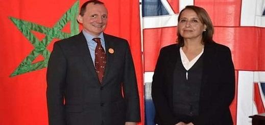 السفير البريطاني يستقبل رئيسة جهة طنجة تطوان الحسيمة لتعزيز العلاقات المشتركة