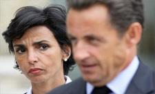 رشيدة داتي في حملة انتخابية بالمغرب لساركوزي