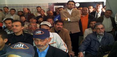 الأمانة الجهوية للاتحاد المغربي للشغل بالناظور والدريوش تعقد مجلسا نقابيا موسعا