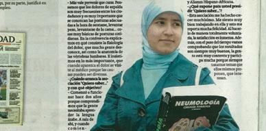 """فائزة بوكموس جمعوية ناظورية بإسبانيا: """"المواطنون بحاجة إلى أن يسمع صوتهم وأن يتلقوا أجوبة"""""""