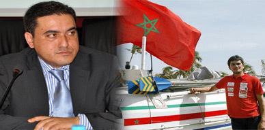 المجلس الإقليمي للناظور يخصص حفل تكريمي للبطل الناظوري الذي شرف المغرب بإنجاز عبور الأطلسي بالتجذيف