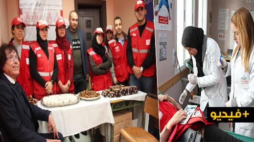 احتفالا باليوم العالمي للتطوع.. الهلال الأحمر بالناظور ينظم حملة للتبرع بالدم بالمستشفى الحسني