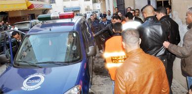 إعتقال ثلاثة عناصر إجرامية بكورنيش الناظور وفرار فتاة كانت برفقتهم