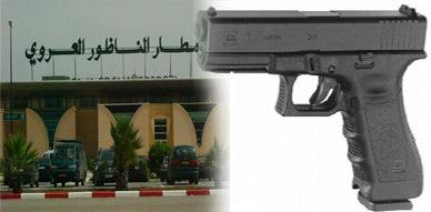إحالة مهاجر مغربي على المحكمة العسكرية بعد ضبط مسدس في أمتعته بمطار العروي