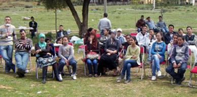 جمعية الشروق بالعروي في خرجة استجمامية الى منطقة تافوغالت
