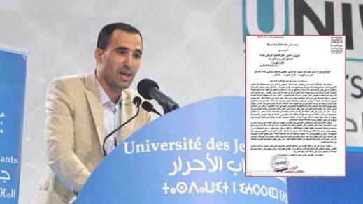 """رئيس جماعة بوعرك يراسل وزير الداخلية حول """"تجاوزات"""" المدير الإقليمي الكهرباء بالناظور"""