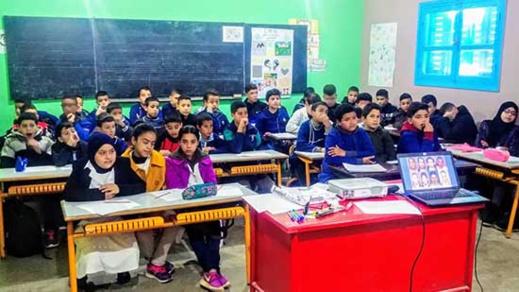 مجموعة  مدارس لحويسية و مركز طب الادمان ينظمان  نشاطا حول آفة الادمان.