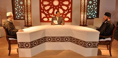 """أعضاء من المجلس العلمي للناظور والدريوش يسجلون حلقات جديدة من برنامج """"قضايا إسلامية """" على القناة الأمازيغية"""