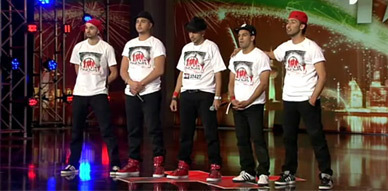 فرقة احباب المغربية في Arab got talent