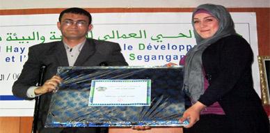 جمعية الحي العمالي للتنمية والبيئة بأزغنغان تختتم أسبوعها البيئي الثالث بحفل بهيج