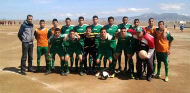 شبان الهلال الرياضي الناظوري لكرة القدم يعودون  بفوز من أركمان